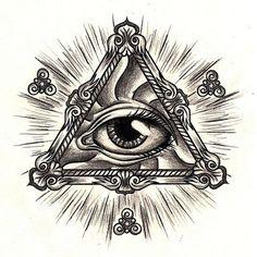all seeing eye tattoo designs - Google zoeken