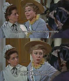 One of my favorite lines in Mary Poppins.