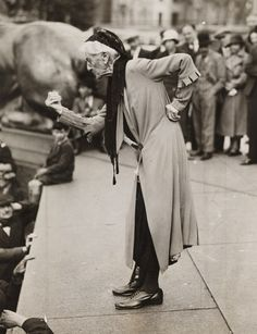 Charlotte Despard, Suffragette (1844 - 1939), 12 June 1933, James Jarché © Daily Herald / National Media Museum, Bradford / SSPL