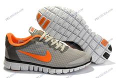 Nike Free 3.0 V2 Grey Orange Womens sport running shoes nike fashion shoes Regular Price: $149.00 Special Price $78.69 Free Shipping with DHL or EMS(about 5-9 days to be your door).  Buy Shoes Get Socks Free.