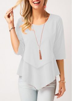 Stylish Tops For Girls, Trendy Tops, Trendy Fashion Tops, Trendy Tops For Women Page 4 Stylish Tops For Girls, Trendy Tops For Women, Blouses For Women, Blouse Styles, Blouse Designs, Chiffon, Tunic Tops, Peplum Tops, Fashion Outfits