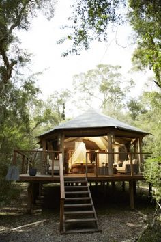 Six of the best: New Australian glamping camps... Paperbark Camp, Jervis Bay, NSW.