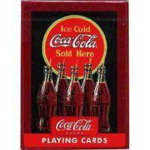 Coca-Cola Coke Vintage Fountain Playing Cards 2 Decks