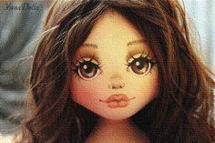 Купить Caroline - коричневый, кукла, кукла ручной работы, кукла в подарок, бохо, бохо-стиль