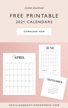 *To access the calendars follow the link the blog post to the freebies page and click the pdf icons to download all of the calendars. Freebie Calendar 2021! Now you can organize, plan and streamline your life! Super easy to print at home and available in 3 sizes to fit all of your needs! @cecilia.sebastianpaperco | ceciliasebastianpaperco.com | Freebie Calendar 2021 | Freebie Calendar | Free Printable Calendar | Feminine Minimalist Calendar | Neutral Blush Calendar Diy Wedding Stationery, Wedding Menu Cards, Printable Wedding Invitations, Wedding Table, Diy Wedding Bouquet, Diy Wedding Favors, Diy Wedding Decorations, Printable Thank You Cards, Free Printable Calendar