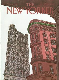 The New Yorker - Monday, November 9, 1981 - Issue # 2960 - Vol. 57 - N° 38 - Cover by : Roxie Munro