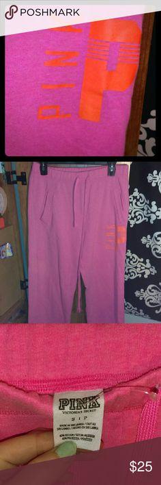PINK boyfriend sweats Pink boyfriend sweats  size small  No flaws PINK Victoria's Secret Intimates & Sleepwear Pajamas