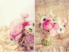 I love this bouquet so much. The choice of flowers is adorable