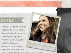 Cgl Franklin Graham, Billy Graham, Christian Women, Finals, Polaroid Film, Final Exams
