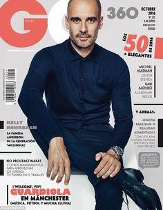 GQ magazine Pep Guardiola Kelly Rohrbach Michiel Huisman Justin OShea