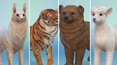 12 Animals recreated in The Sims 4 Cats & Dogs << Sims Community