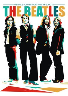 The Beatles | WPAP EDHO by edhoartwork on DeviantArt