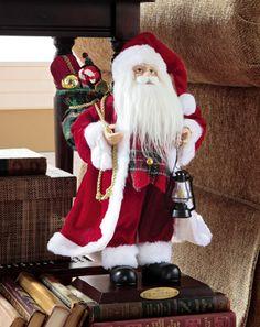 Collectible Christmas Holiday Santa Doll