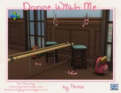 My Sims 4 Blog: TS2 Dance With Me Ballet Set Conversions by Tinker...
