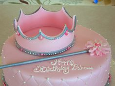 princess cake--You could do this in a Princess Sophia theme! Cute Cakes, Pretty Cakes, Beautiful Cakes, Amazing Cakes, Cupcakes Princesas, Decors Pate A Sucre, Bolo Fack, Birthday Cake Girls, 4th Birthday