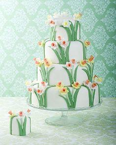 daffodil cake