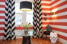 eclectic dining room by Blount Architectual and Interior Design