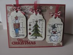 tim holtz christmas blueprint cards at inbox whimsy