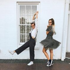 "9,962 Likes, 38 Comments - Tess & Sarah (@tess_and_sarah) on Instagram: ""dancing around in @flairthelabel """