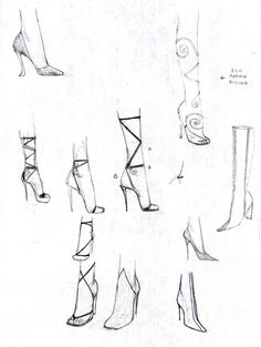 Bozza to drawing shoes Dress Design Sketches, Fashion Design Sketchbook, Fashion Illustration Sketches, Fashion Design Drawings, Fashion Illustration Tutorial, Fashion Drawing Tutorial, Fashion Figure Drawing, Fashion Drawing Dresses, Fashion Model Sketch