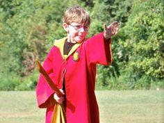 Child-sized Quidditch robe