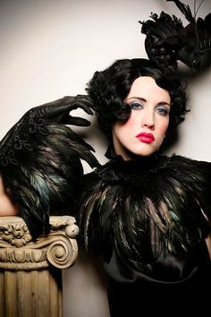 Something about the feather gloves intrigues me. There's some inspiration in there I need to tease out. #inspiration