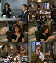 Rita Wilson scene in sleepless in seattle - this was the funniest. PLUS! It's Victor Garber from Alias! So cool.