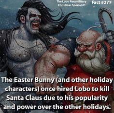 Santa Claus  fact - Marvel  ... °°  Lobo