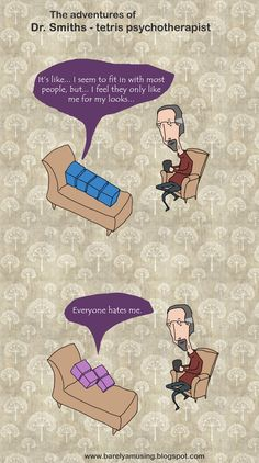 Funny pictures about Tetris Psychotherapy. Oh, and cool pics about Tetris Psychotherapy. Also, Tetris Psychotherapy photos.