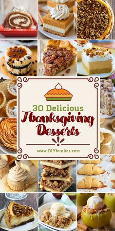 Thanksgiving Desserts: 30 to Make for the Big Party These Thanksgiving dessert ideas are an easy way for kids to be included in the baking process. Help them get creative and have some fun before the big dinner! Cute Thanksgiving Desserts, Summer Desserts, Holiday Desserts, Holiday Treats, Just Desserts, Holiday Recipes, Delicious Desserts, Thanksgiving Desserts For Kids, Creative Desserts