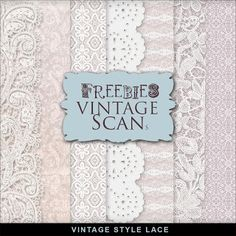 Scrapbooking TammyTags -- TT - Designer - Far Far Hill,  TT - Item - Paper, TT - Texture - Lace or Crochet