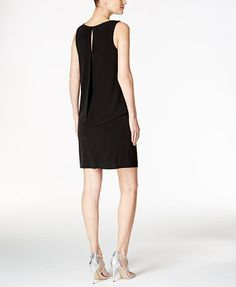 099a7a3d7 Jessica Howard Embellished Popover Sheath Dress   Reviews - Dresses - Women  - Macy s. Vestidos AzulesPantalones