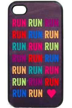 Candy-Heart-Run - iPhone case Cool Iphone Cases, Ipod Cases, Cute Phone Cases, New Iphone, Iphone 4s, Just In Case, Just For You, Gifts For Runners, Strip