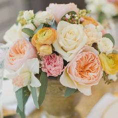 Is peach the new pink? We certainly think so! {Image Alexandra Vonk}