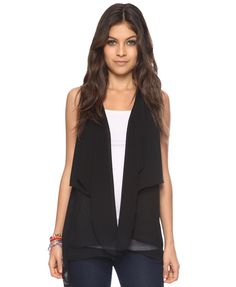 Tiered Open Vest | FOREVER21 - 2000042410