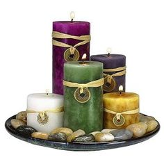 feng shui candle set