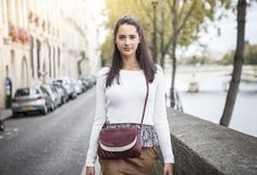 Maddy by Léa Toni - Bordeaux - Leather bag made in Italy