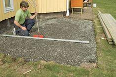 Slik bygger du terrasse – trinn for trinn