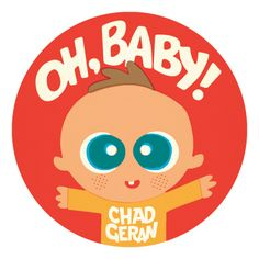 """I am super-excited that my first board book, """"Oh, Baby!"""" will be released in September from POW Kids!  You can pre-order here:  http://powkidsbooks.com/oh-baby/ Hurray!"""