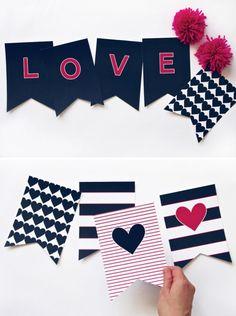 Preppy LOVE Banner f