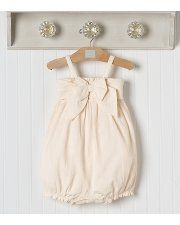 Janie & Jack bubble dress... and i LOVE the shelf too!