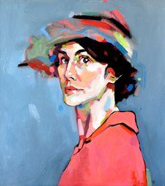 "Dominik Jasinski - ""Dowton Abbey"", 2012 - Oil on canvas"