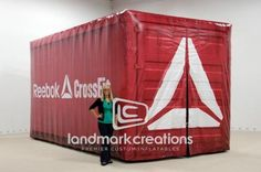 Inflatable Reebok CrossFit Box Replica v2 - are you #crossfit ? #inflatables