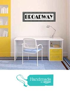 Broadway New York Sign Vinyl Wall Decal Sticker Graphic from Country Chic Decals https://www.amazon.com/dp/B019HLTRAG/ref=hnd_sw_r_pi_dp_.l.szbBNGJTCN #handmadeatamazon