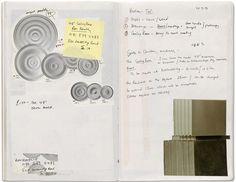 Rachel Whiteread Sketchbook featuring Untitled Vienna 1996
