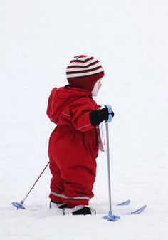 You have to start  skiing  at a young age :)
