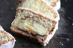 Cinnamon Roll Pound Cake - Creme De La Crumb {can try with GF flour}