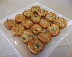 Egg Foo Young Bites (aka Crustless Quiche) #holiday #party #appetizers