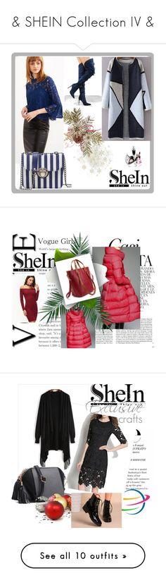 """& SHEIN Collection IV &"" by nura-akane ❤ liked on Polyvore featuring Whiteley, Nika, Balenciaga, MAC Cosmetics and Kaisercraft"