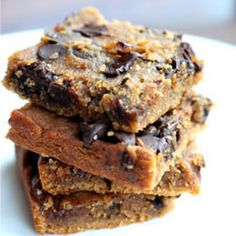 Brownies - Flourless Chocolate Chip Blondies